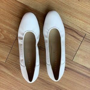 *NWOT* White,  Naturalizer, Heel, 7B